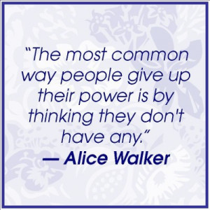 """Alice Walker, author of """"The Color Purple"""""""
