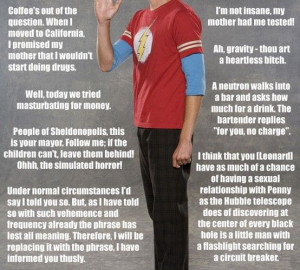 ... +Theory+Sheldon+Quotes | What's your favorite Sheldon Cooper quote