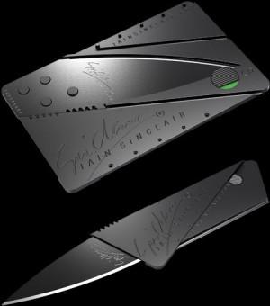 ... Knife, Iain Sinclair, Credit Cards, Pocket Knives, Folding Knives