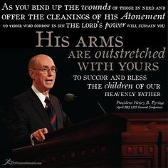 LDS - Eyrings wise words