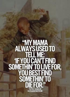 Mamma said ...