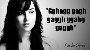 Quote of the Day: Sasha Grey