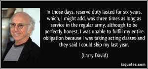 More Larry David Quotes