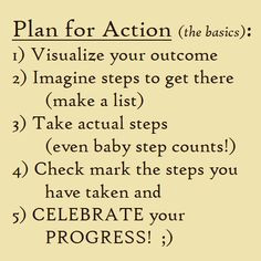 plans action step action quotes action today take action