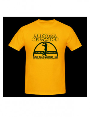 Happy Gilmore Quotes Tap It In Shooter mcgavin t-shirt.