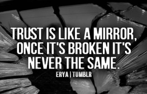 life, mirror, quote, text, trust