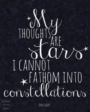 ... Our Stars Quotes, Fault In Our Stars Quotes Love, Augustus Water, John