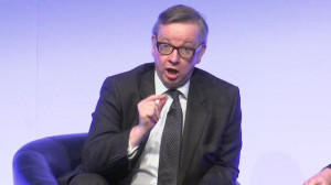 Michael Gove heckled at head teachers' conference in Birmingham