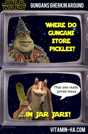 Jar Jar Binks Pickle