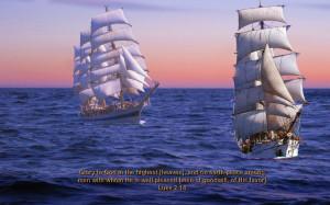 Inspirational Large Bible Verses Sailing Photo 3 of 27