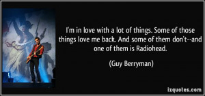 Guy Berryman Quote