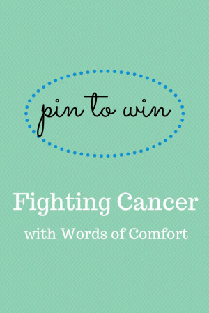 ... Comfort will donate a cancer kit to a cancer patient on behalf of one