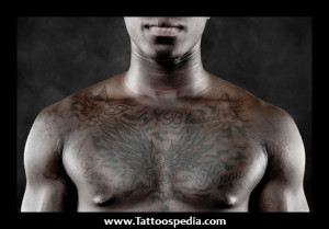 Chest Tattoos For Men Bible Quotes