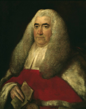 Thomas Gainsborough 'Sir William Blackstone', 1774