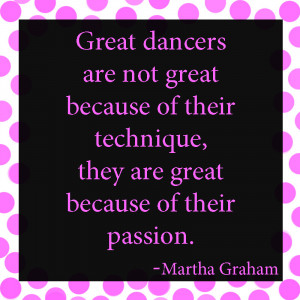 Great Dancers