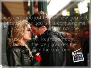 You Just Tell Me How You Feel, Picture Quotes, Love Quotes, Sad Quotes ...