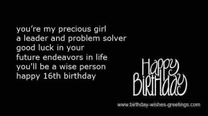 16th Birthday Quotes Poems ~ 16th sweet birthday poems best friend ...