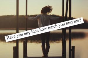 feelings, heart broken, hurt, quotes - inspiring picture on Favim.com