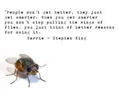 ... quotes interesting quotes king carrie king quotes horror stephen kings