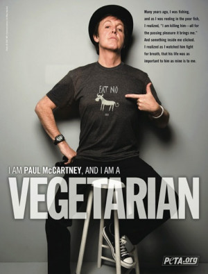 Celebrities in PETA Advertising Campaign