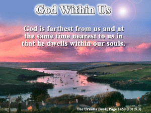 God Within Us - Quote of the Day - Soul