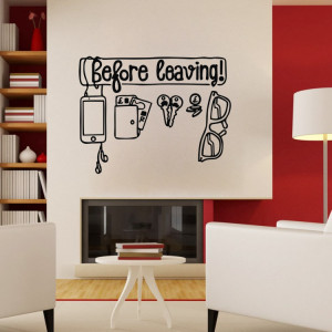 ... Wall-decals-Wall-Quote-Words-Letterings-Door-Interior-Home-Wall-Decor