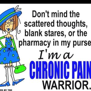 chronic pain warrior! #chronically #ill #illness #health