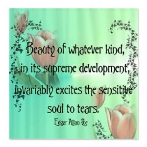 Edgar allan poe, quotes, sayings, beauty, soul, tears