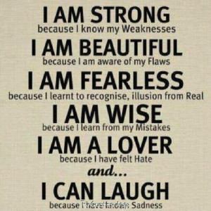 am fearless