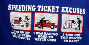 Getting Out Of Speeding Tickets