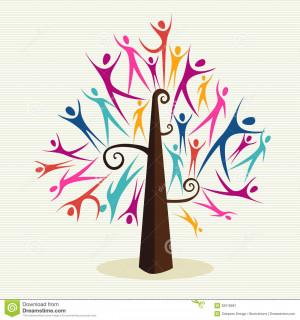 Colorful Diversity Tree...