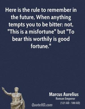 Marcus Aurelius On Victory