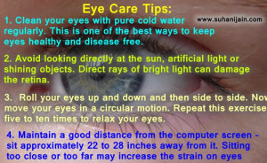 Healthy eyes,eye care tips, ,health quotes,advice,tips,healthy living ...