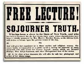 Sojourner Truth (1797-1883): Ain't I A Woman?