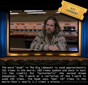 Movie Facts- Big Lebowski