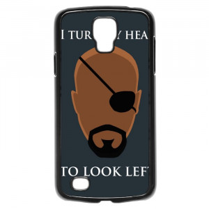 Avengers Nick Fury Funny Quotes Galaxy S4 Active Case