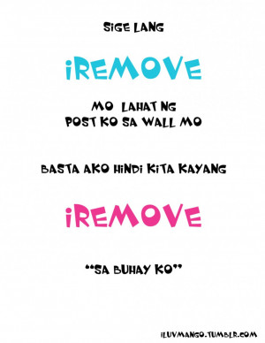 Bitter Quotes About Love And Relationship: I Remove I Remove Hallo ...