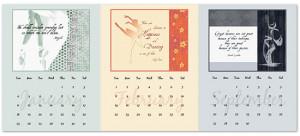 FREE Printable Dance Quotes Calendar!