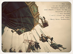 Swinging On A Swing Quotes Quote - flickr hive mind