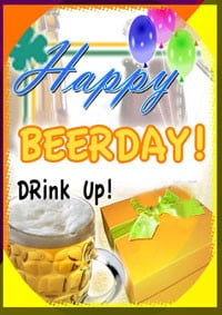 Beer Birthday Cards