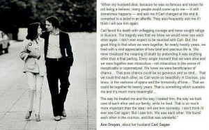Ann Druyan On Her Husband, Carl Sagan's Death