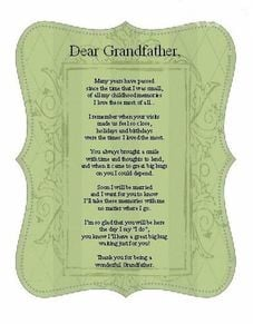 Grandfather from Bride Poem Card Great by EmbroiderybyMelissa, $2.99 ...