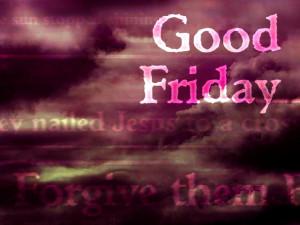 Good Friday Revelation