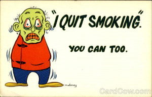 Quit Smoking You Can Too Comic, Funny