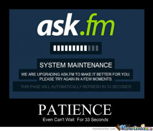 Patience Funny