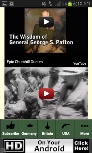 Famous Churchill Quote World War