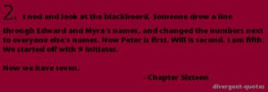 Divergent Quotes.