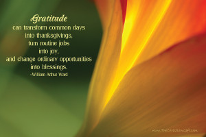 Christian Gratitude Quotes The christian gift gratitude