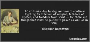 Freedom Religion...