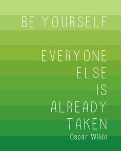 ... wilde quote print green stripe 8x10 famous quotes inspirational words